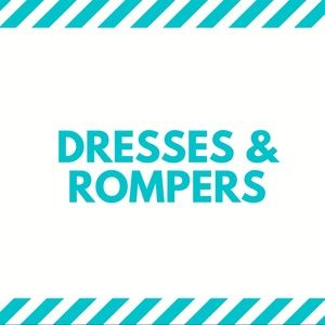 Dresses and Rompers $12 and Below!